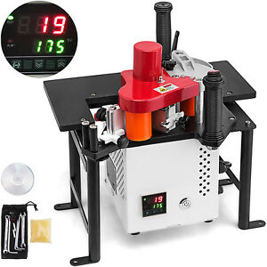 Woodworking Portable Edge Banding Machine Straight 220v 15w Motor 0 3 3mm Thick