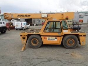 2013 Broderson Ic 80 3j Carry Deck Crane With Boom Extension