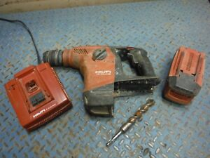Hilti Te30 a36 Cordless Combihammer Rotary Hammer Drill W Battery