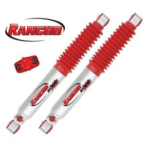 Rancho Rs9000xl Series 2 To 4 Lift Front Shocks 97 06 Jeep Tj Wrangler Pair