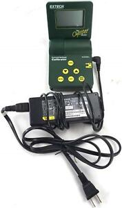 Extech 412355a Current voltage Calibrator meter W Power Supply 11221