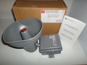 new In Box Federal Signal Audiomaster Am15xd2 Dust moisture Proof Speaker