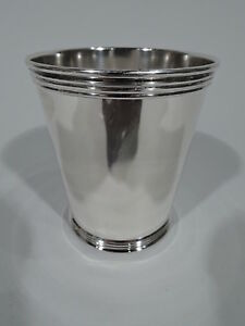 Trees Mint Julep Mini Cup Kentucky Barware American Sterling Silver