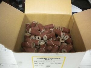 Arc Abrasives Straight Cart Rolls 50gr 5 8 X 1 1 2 X 3 16 100 Ct Box 21450