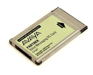 Avaya Partner Large Voice Messaging Pc Card Voicemail 108505306 Refurbished