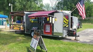 6 X 12 Food Kettle Corn Concession Trailer For Sale In Wisconsin