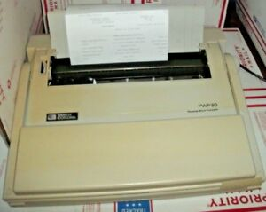 Smith Corona Personal Word Processor Pwp80 Typewriter Lcd Screen Floppy Disk Dri