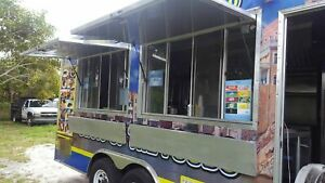 2014 7 X 20 Food Concession Trailer For Sale In Florida