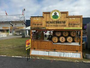 2013 7 X 8 Bayou Billy Concession Stand With Trailer For Sale In Maryland