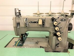 Juki Mf 890n 3 Needle 1 4 Coverstitch New 110 Volt Industrial Sewing Machine