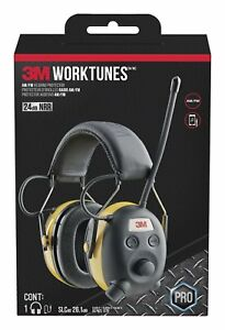 Brand New 3m Worktunes Hearing Protector With Am fm Radio Fast Shipping
