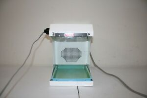 Handler 550 Porta vac Bench Top Dust Collector Dental Lab Red Wing