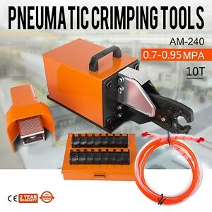 Am 240 Pneumatic Crimping Machine 10t Crimper U shape Terminal 0 7 0 95 Mpa