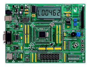 Pic Development Board Easypic Pro For Dspic Pic24 Pic32 Microcontrollers