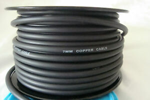 7mm Copper Core Spark Plug Wire Ignition Wire Sold By The Foot
