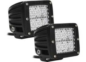 Rigid Industries 20251 Dually Set Of 2 White 60 Degree Fog Light New Low Price