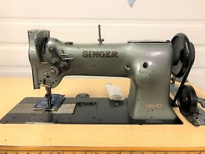 Singer 112w139 2 Needle Walking Foot 1 4 New 110 Volt Industrial Sewing Machine