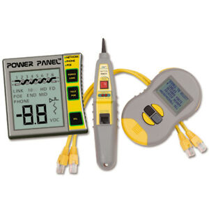 Cpk1000il2 Cable Power Test Kit Real World Certifier Power Panel Cat5 6