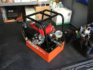 Spx Power Team Pg303 Portable Hydraulic Power Pack pump Gas Engine 10 000 Psi