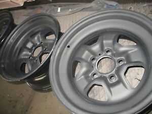 Gm Oldsmobile Cutlass 1970 71 72 2 15x7 2 15x8 Rally Wheels Repro