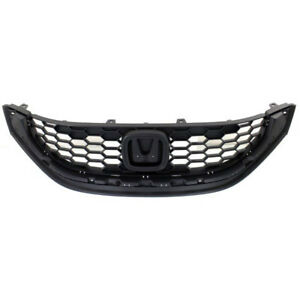 New For Honda Civic Sedan Fits 2013 2014 Front Grille 71121tr3a01 Ho1200216