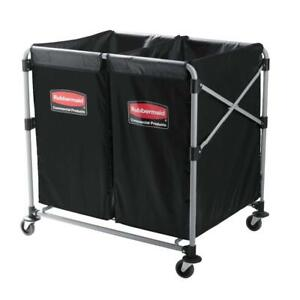 Rubbermaid Commercial Executive Series Collapsible X cart 2 To 4 Bushel 188178