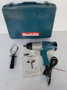Makita 6906 Electric 3 4 Impact Wrench In Case
