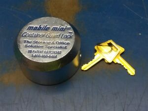 Lot Of 18 Mobile Mini Shipping Container Puck Lock Safety Box Lock