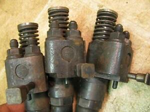 3 Detroit Diesel Early Fuel Injectors Marked 60 53 Series 71 92
