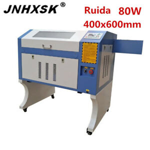 Laser Engraver Cutter Machine Marking Machine 400 600 6040 80w Ruida Cnc Router