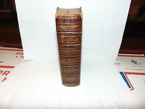 Small Antique Bible 5 75 X 4 5 American Bible Society 1876