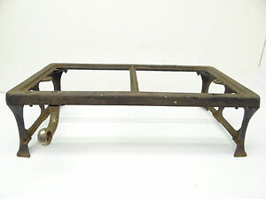 Antique Cast Iron Quality 2262 Propane Gas Rectangular Portable Stove Frame Part