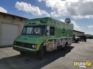 Chevy Food Truck Mobile Kitchen For Sale In Florida