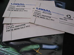 Loral Microwave Fsi Gaas fet 9912 129b New Out Of Production Qty 5