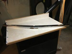 1967 Ford Fairlane Chrome Hood Molding