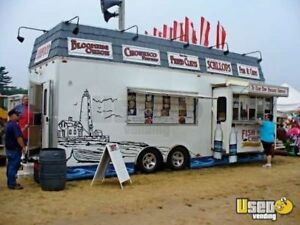8 6 X 26 Food Concession Trailer Mobile Kitchen For Sale In Massachusetts