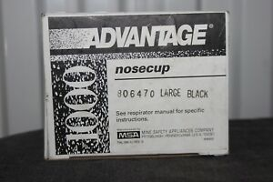New Msa Advantage Nose Cup Assembly For Ultra Elite Large 806470