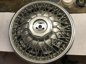 1980 85 Buick Riviera 1099 15 Wire Hubcap Wheel Cover Gm 25504652 Used