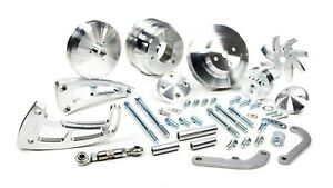 March Performance 23030 Aluminum Big Block Chevy Serpentine Ultra Pulley Kit