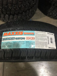 4 New 235 60 16 Maxxis Bravo Hp M3 Tires
