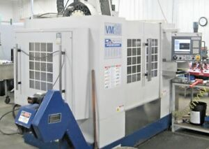 Milltronics Vm 20 Cnc Vertical Machining Center Mill 10 000 Rpm Coolant Through