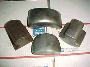 Vintage Auto Body Dolly 4 Old Dollies All Shapes sizes Hand Shop Tools