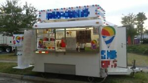 6 X 9 Shaved Ice Concession Trailer For Sale In Florida
