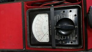 Triplett Model 630 Multimeter used