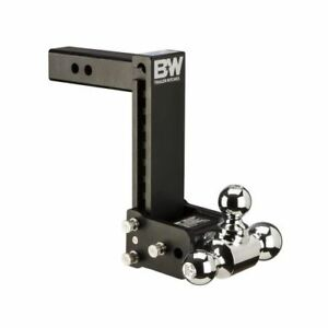 B w Hitches Ts10050b Tow Stow 9 9 5 Adjustable Tri Ball Mount Receiver Hitch
