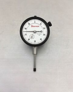 New Calibrtd Starrett 25 441 Jeweled Dial Indicator 001 0 1 Agd2 More Accuracy