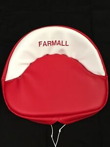 Embroidered Farmall Seat Cushion H M 300 450 Cub Farmall Seat Cushion