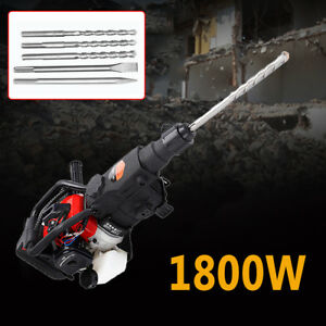 1800w Demolition Jack Hammer Drill Double Insulated Concrete Breaker Jackhammer
