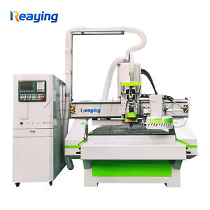 9kw Usb 4x8 Atc Cnc Router 12 Tools Automatic Tools Changer Cnc Router Wood Cut