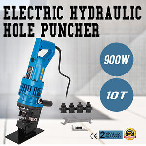 900w Electric Hydraulic Hole Punch Mhp 20 With Die Set Electro Steel Local